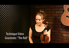"Scottish Grace Note Tutorial – ""The Roll"""