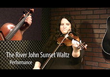 The River John Sunset Waltz