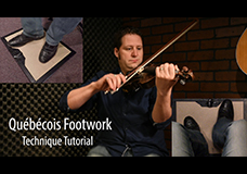 Québécois Fiddle Footwork Tutorial