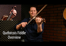 Québécois Fiddle Overview Tutorial