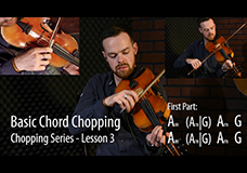 Fiddle Chopping Lesson 3 – Basic Chord Chopping