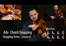Fiddle Chopping Lesson 6 – Advanced Chord Chopping