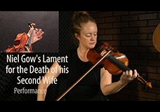 Niel Gow's Lament for the Death of his Second Wife