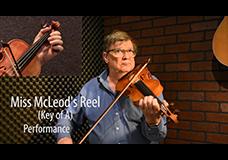 Miss McLeod's Reel (key of A)