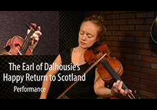 The Earl Of Dalhousie's Happy Return To Scotland