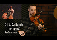 Off to California (Hornpipe)