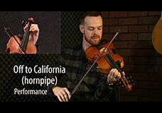 Off to California (Hornpipe)