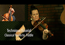 Transitioning from Classical Violin to Fiddle