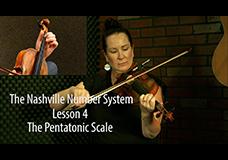 Nashville Number System Lesson 4 – The Pentatonic Scale