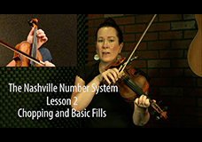 Nashville Number System Lesson 2 – Chopping and Basic Fills